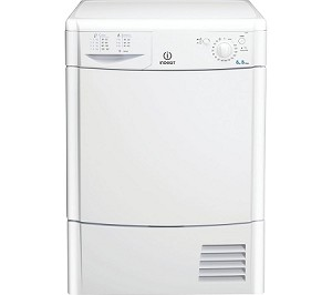 RENT this Indesit 8kg load Condenser Dryer