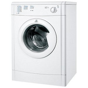 Indesit IDV75W Tumble Dryer with rear Venting  and Large 7 kg load capacity