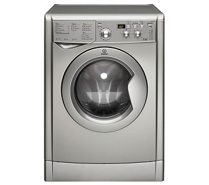 Indesit IWDD7143S 7kg wash 5kg dry Washer Dryer in Silver- available to order
