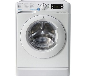 Indesit BWE81483XW 8kg Load 1400 Spin Speed Washing Machine With Rapid 30 Minute Wash.