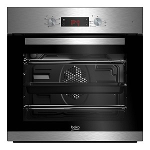 Beko CIF81X Built in Stainless Steel Single Fan Oven with Digital Timer and 2 Year Beko Guarantee