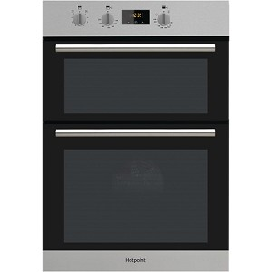 Hotpoint DD2 540 IX  Built In Double Oven in Stainless Steel