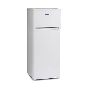 Iceking FF218AP2 Top mount fridge freezer- ideal for locations where space is at a premium.