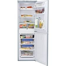 Hotpoint HBNF5517S 55cm Wide Frost Free Fridge Freezer in SILVER