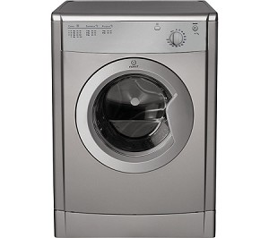 Indesit IDV75S 7kg Vented Tumble Dryer IN SILVER