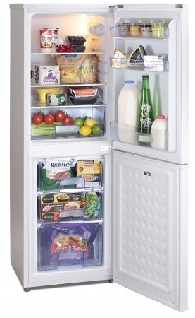 Iceking IK3633AP2 Slim 48cm Wide Fridge Freezer - Great for fitting in small gaps! 1 ONLY AT THIS PRICE.