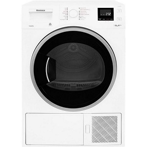 Blomberg LTH3842W 8kg Heat Pump Tumble Dryer with RapiDry Function and 3 Year Warranty - A+++ Rated