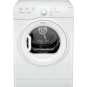 Rent this Hotpoint 8kg Load Sensor Vented Tumble Dryer